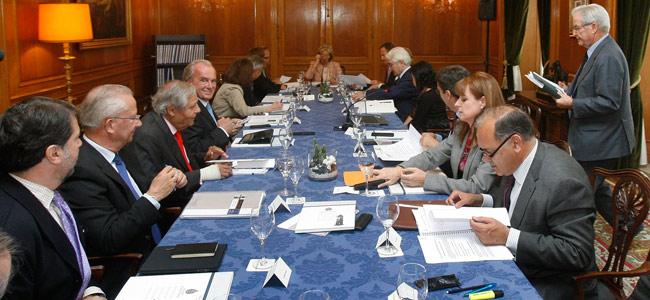 Reunión del jurado del Premio Príncipe de Asturias de Cooperación Internacional