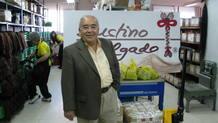 Justino Delgado, dueño del almacén