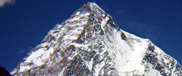 El K2, la segunda montaña más alta del mundo, situada en el Himalaya y con 8.611
