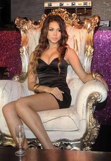Karima El Mahroug, más conocida como Ruby, en una foto de archivo posando en una discoteca de Milán.