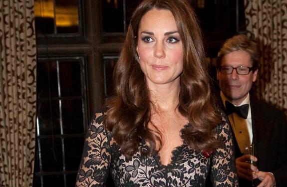 Kate Middleton repite vestido: el Amoret de Temperley