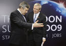Kevin Rudd, primer ministro australiano, a su llegada a la cumbre del G-20