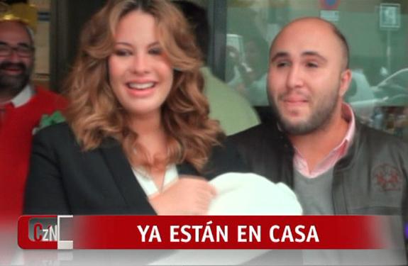 Kiko Rivera y Jessica Bueno presentan a su primer hijo