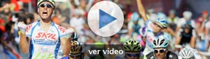 Kittel se salva de la montonera y gana al sprint en Talavera