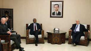 Ver vídeo  'Kofi Annan enviado especial de Naciones Unidas en Siria'