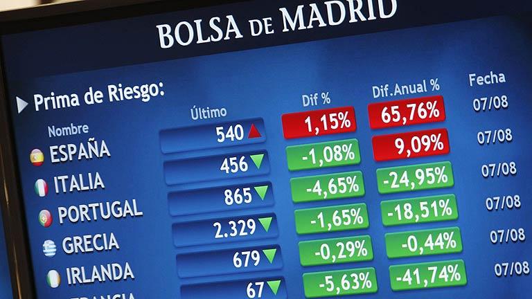 La bolsa encadena una nueva jornada de subidas y la presión sobre la deuda española sube