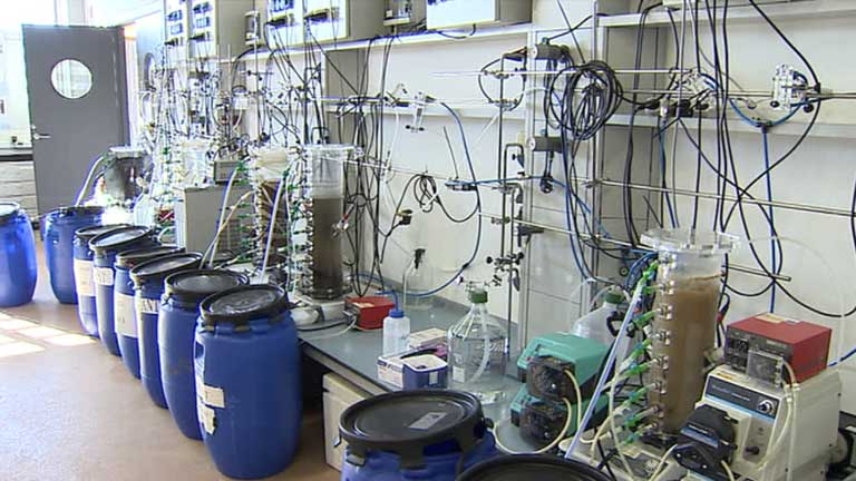 Científicos españoles crean en Girona un laboratorio con ríos artificiales