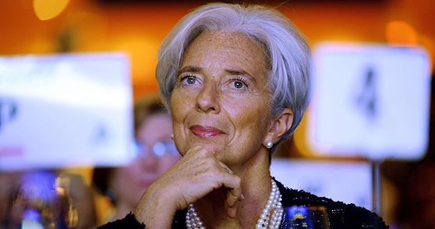 Lagarde ha alertado sobre la situaci&oacute;n de Grecia.
