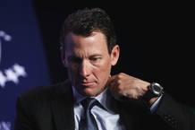 Lance Armstrong participando en una acto especial sobre el c&aacute;ncer en el mundo durante la Iniciativa Global Clinton en Nueva York.
