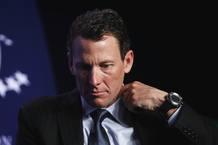 Lance Armstrong participando en una acto especial sobre el cáncer en el mundo durante la Iniciativa Global Clinton en Nueva York.