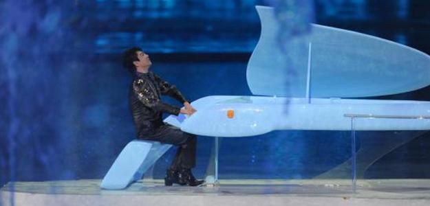 Lang Lang durante la ceremonia de apertura de los Juegos de Asia en Guangzhou