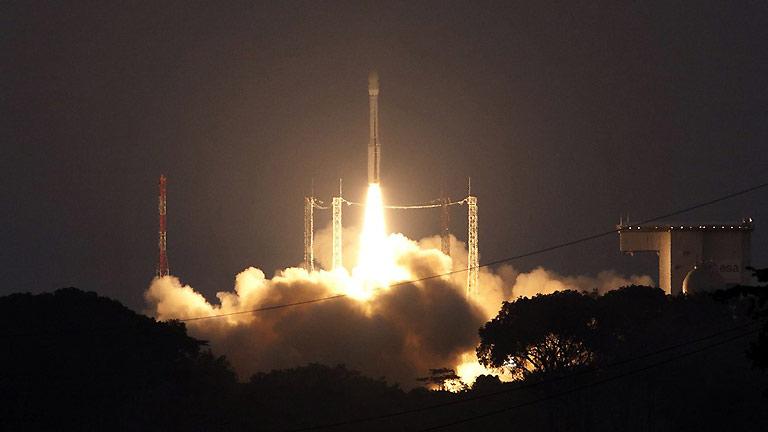 El nuevo lanzador de la Agencia Espacial Europea ha completado con éxito su vuelo inaugural