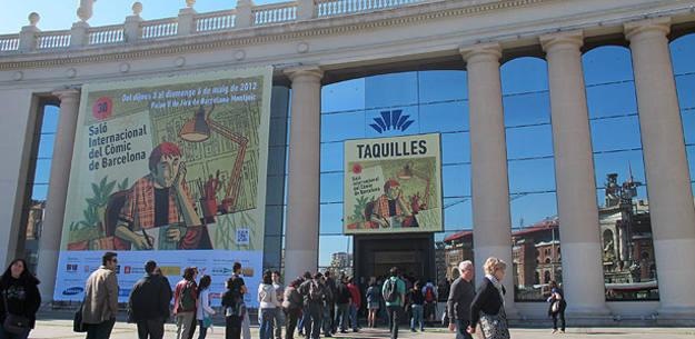Las largas colas han sido una de las constantes de este XXX Salón del cómic de Barcelona