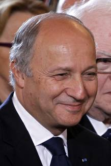 Laurent Fabius, seen in this file picture, has been named as France's Foreign Affairs Minister in the new government announced by the Elysee Palace in Paris