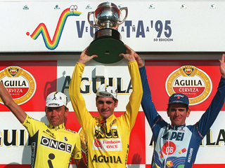 Ver vídeo  'Laurent Jalabert gana la Vuelta 95'
