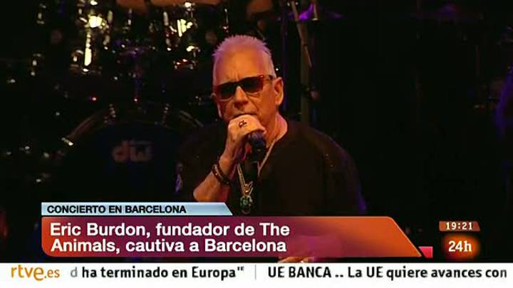 Ir al Video El legendario elixir de Eric Burdon hipnotiza Barcelona