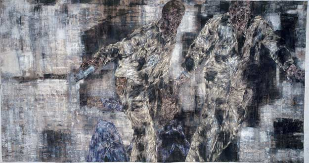 Leon Golub. 'The Prisioner' (El prisionero) (1989).