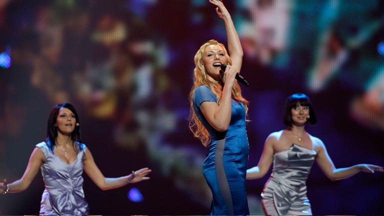 Letonia Eurovisión 2012 - Anmary - 1ª semifinal