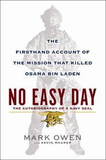 Portada del libro de Mark Owen que contiene los detalles sobre la operacion que acabo con la vida de Osama Bin Laden