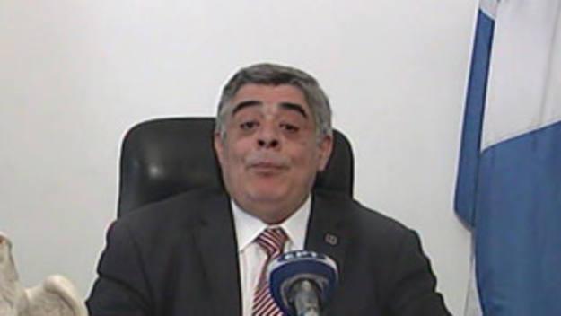 El líder del partido neonazi griego Amanecer Dorado, Nikolaos Michaloliakos