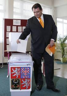 El líder socialdemócrata Jiri Paroubek