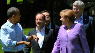 Ver vídeo  'Los líderes del G8 señalan que la fortaleza de la eurozona es importante para la estabilidad básica global'