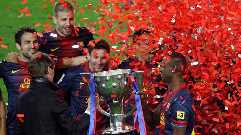 Una Liga dedicada a Vilanova y a Abidal