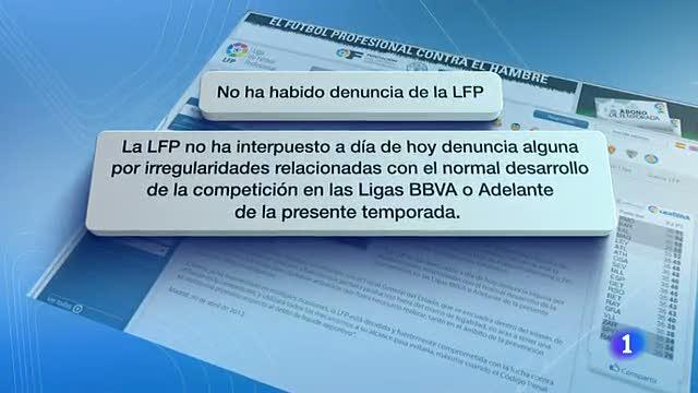 La Liga desmiente los supuestos amaños de partidos