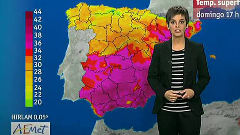 Ligera bajada de las temperaturas y llegada de lluvias a Galicia