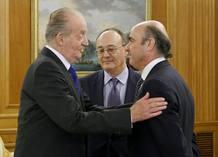 Rey Juan Carlos Luis de Guindos
