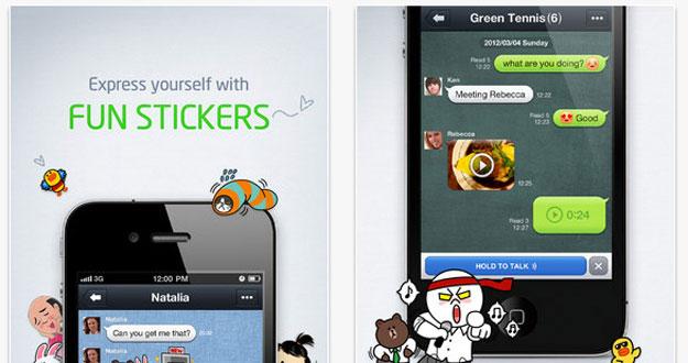 LINE: la competencia a Whatsapp que llega desde Japón