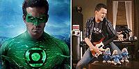 'Linterna Verde' y 'Los Pitufos' en 3D. ¡Último programa de la temporada!