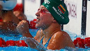 La lituana Meilutyte bate el récord del mundo de los 100 braza