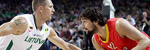 Lituania 88-76 España