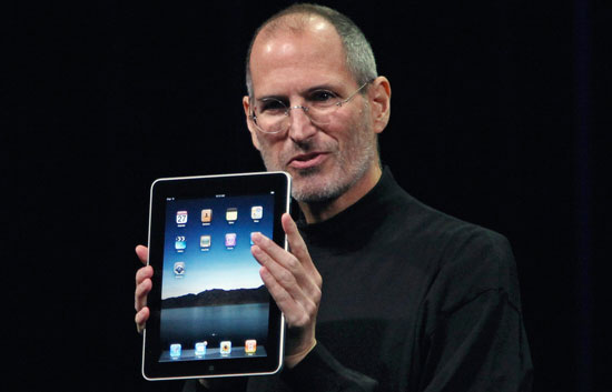 Steve Jobs presenta el iPad, el esperado tablet de Apple