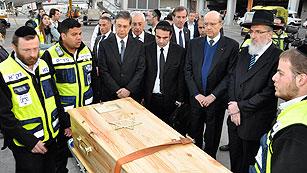 Ver vídeo  'Llegan a Israel los cuerpos de las cuatro víctimas del atentado de Toulouse'