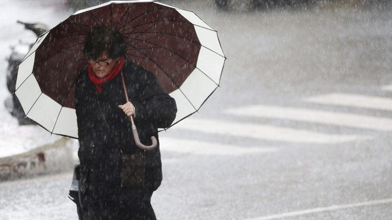 Lluvia, nieve y viento en Cataluña, Baleares y Castellón