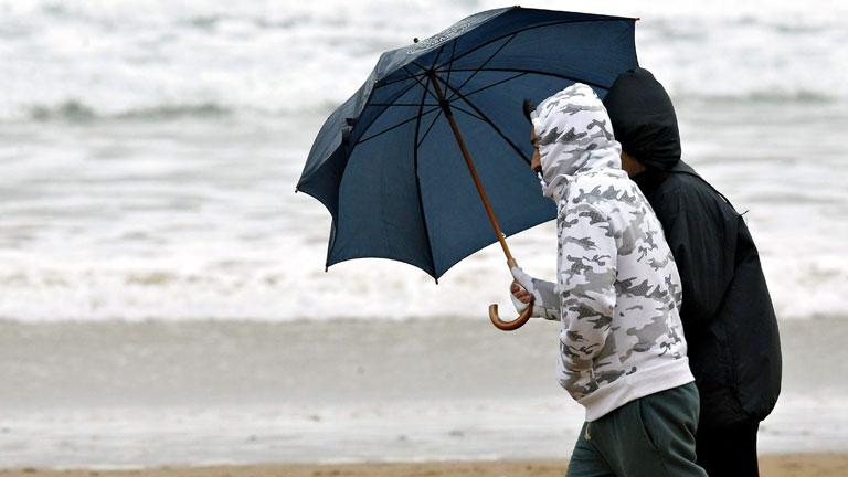 Lluvias en Galicia,