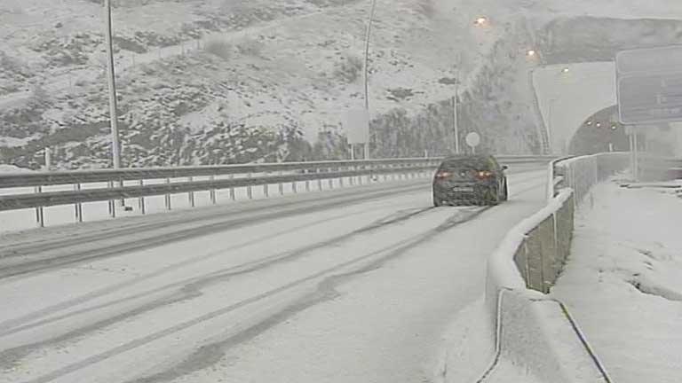 Lluvias en Galicia, Cantábrico y Pirineos y nieve en zonas de montaña