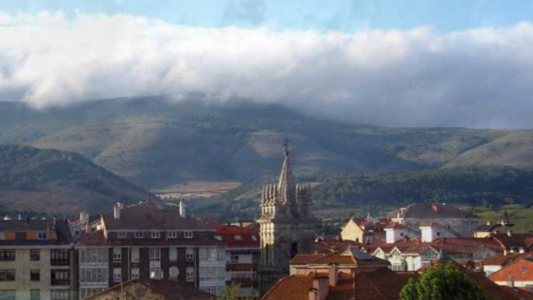 Lluvias en el Pirineo, &aacute;rea cant&aacute;brica y norte de Castilla y Le&oacute;n