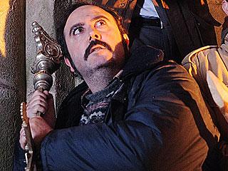 """Ver vídeo  ''Lobos de Arga': Carlos Areces: """"Soy un actor muy de mótodo""""'"""