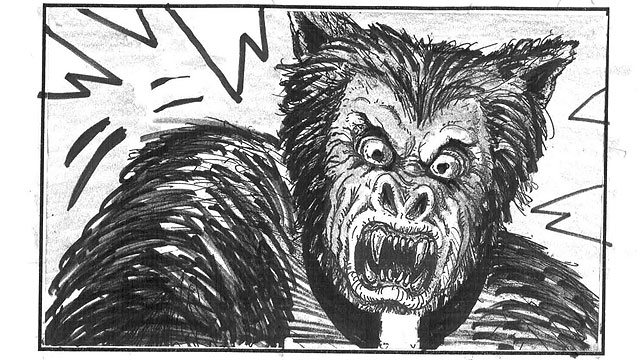 'Lobos de Arga': El storyboard