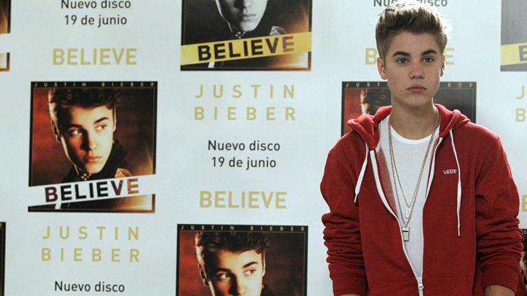 Corazón - Justin Bieber presenta en España su nuevo disco, 'Beliebe'