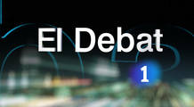 Logo &quot;El debat de La 1&quot;