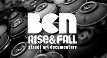 Logo del documental 'BCN Rise&Fall'
