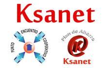 El logo de los tres productos que gestiona Ksanet