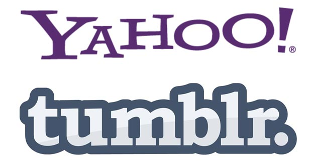 Logos de Yahoo y Tumblr