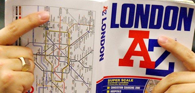 Londres de la A a la Z o como perderse en un mar de números