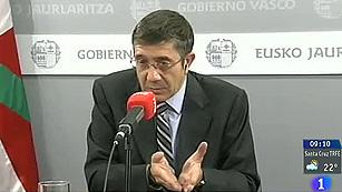 """Ver vídeo  'López lamenta la """"bronca"""" en el PP por la excarcelación de Uribetxebarria'"""