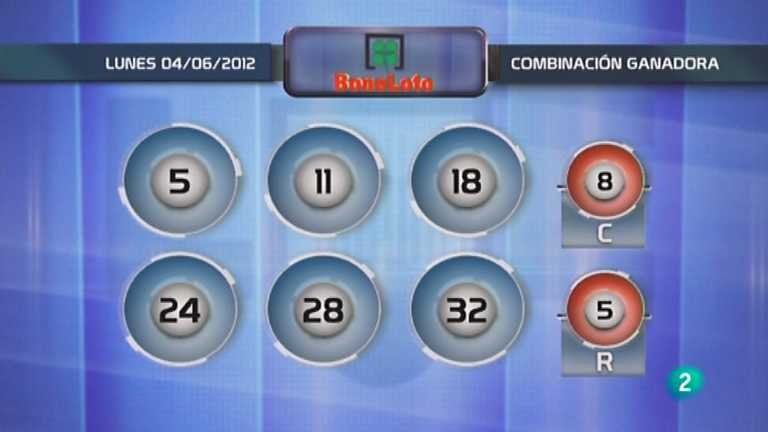 Loter&iacute;a diaria - 04/06/12